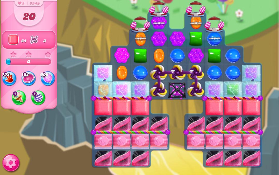 Candy Crush Saga level 6549
