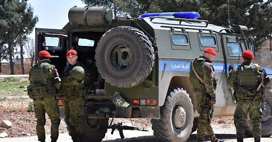 Russian military police as monitors in Syrian safe zones? Seriously?