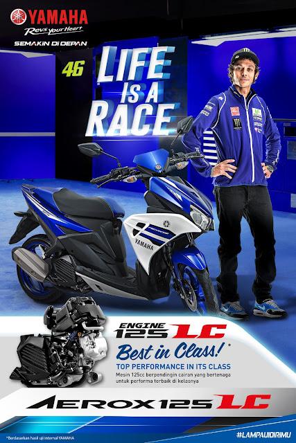 Yamaha Aerox 125-LC