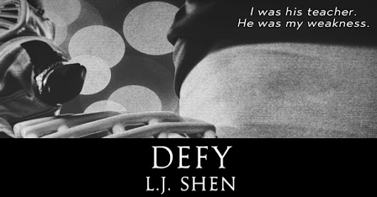 Cover Reveal: Defy (Sinners of Saints #0.5) by L. J. Shen
