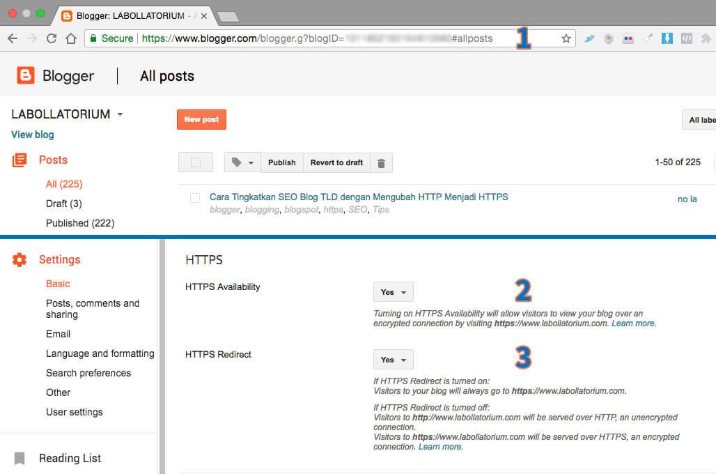3 Langkah Mudah Mengubah HTTP Menjadi HTTPS di Blog TLD Dashboard