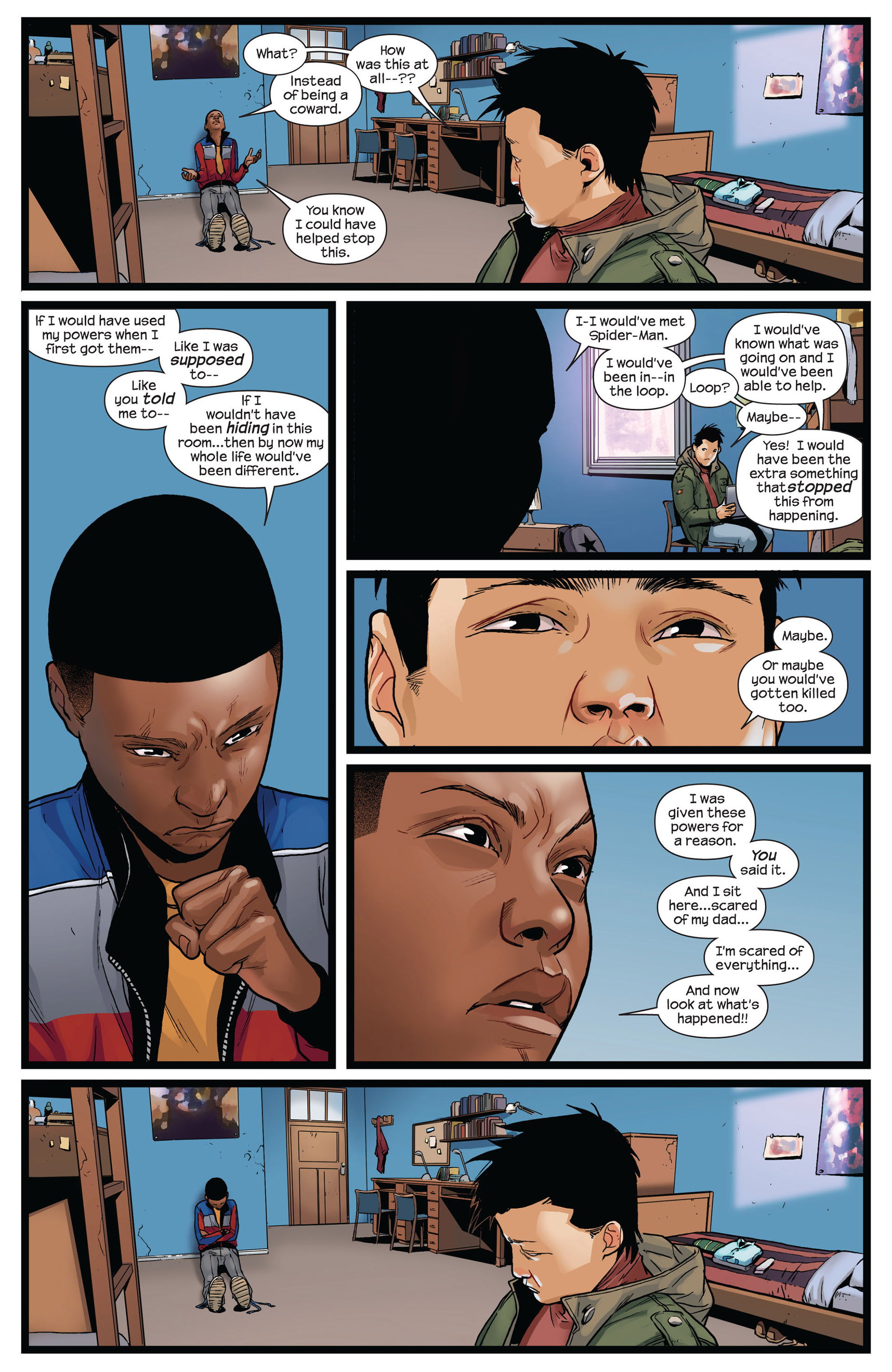 Read online Ultimate Comics Spider-Man (2011) comic -  Issue #4 - 10
