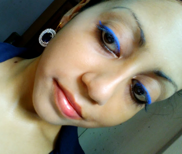 Koyel Mitra in Blue Liner from Lakme Absolute Range