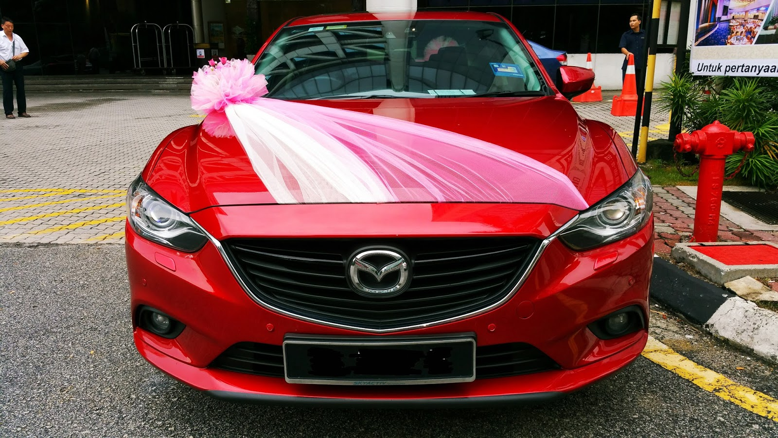 RedOrca Malaysia Wedding and Event Car Rental Wedding car
