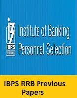 Ibps Rrb Model Question Paper Pdf