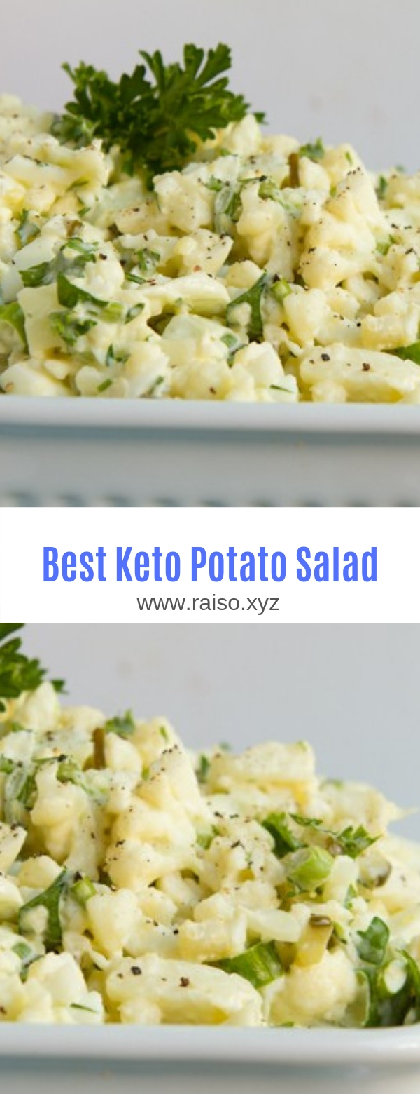 Best Keto Potato Salad