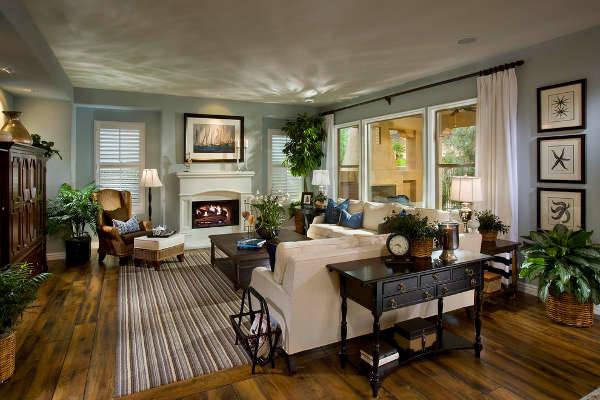 Ý tưởng cho thiết kế nội thất phòng khách tuyệt vời