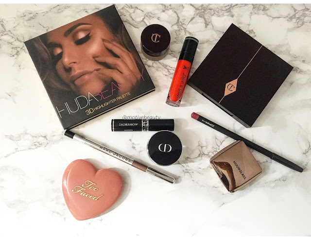 hourglass, dior, toofaced, marc jacobs, mac, Charlotte Tilbury instant look in a palette: natural beauty