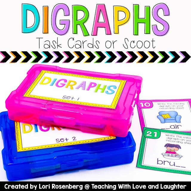 https://www.teacherspayteachers.com/Product/Digraphs-Task-Cards-or-Scoot-717600