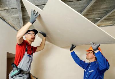 Cara Paling Mudah Pemasang Plafon Gypsum Untuk Rumah Sederhana 6