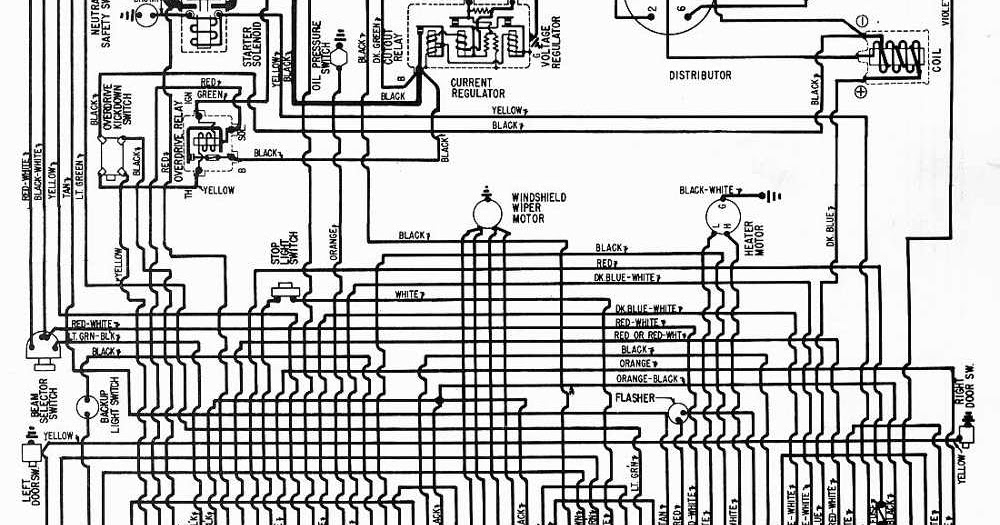 1957 plymouth wiring diagram 1957 plymouth wiring harness #1