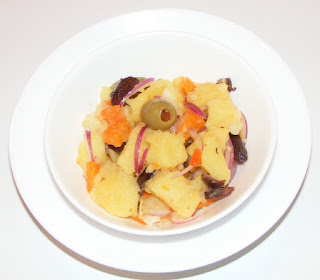 retete salate, reteta salata, salata orientala de post cu legume fierte, retete culinare de post, mancaruri cu legume,