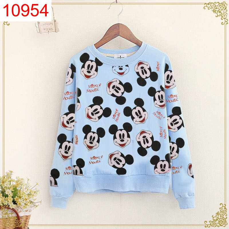 SWT FULL MICKEY BLUE - 10954