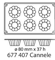 Forma Silicon, Tava Silicon, Forma de Copt- Cannelle ...