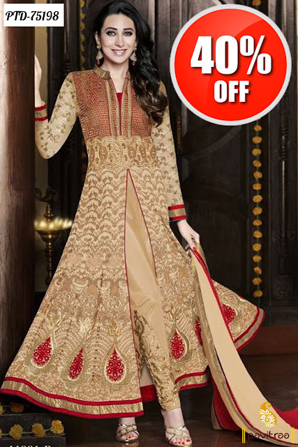 Karishma Kapoor Bollywood Replica Suits Online With Discount Sale