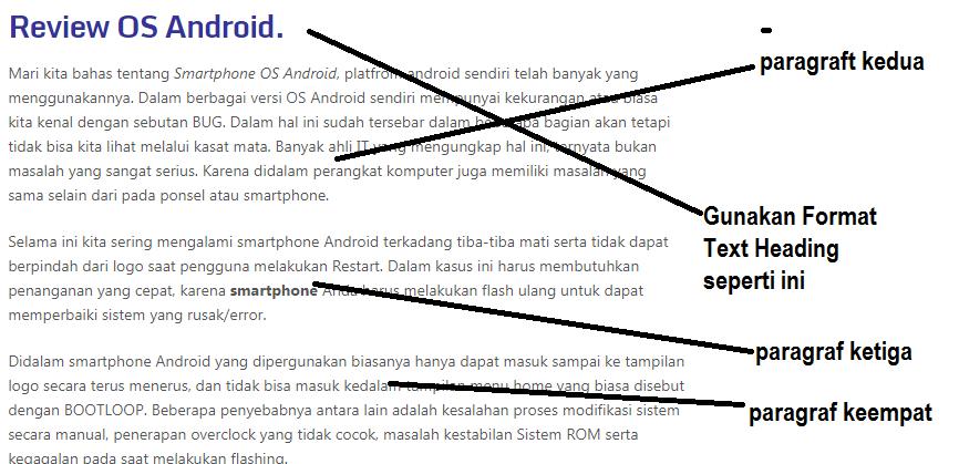 Blogger otodidak gambar membuat paragraf kedua sampai terakhir dan cara membuat text heading ccuart Images