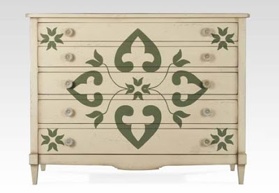 Stencil, Ideal to Give Life to Old Furniture 2