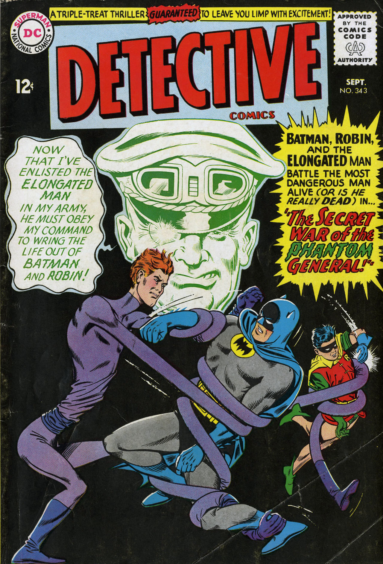 Detective Comics (1937) 343 Page 0