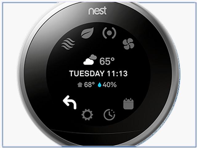 Nest thermostat programming language