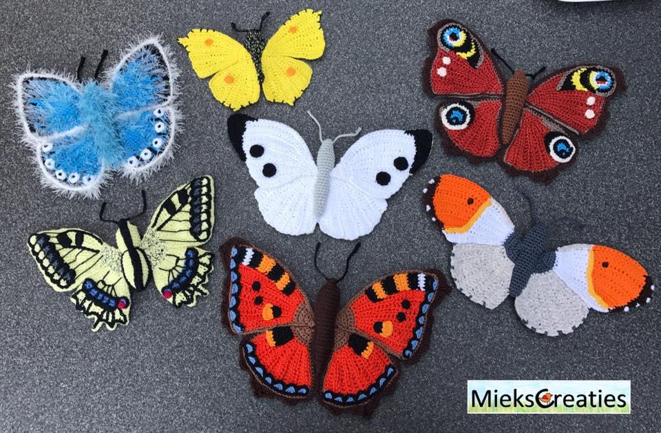 Miekscreaties Vlinders Haken