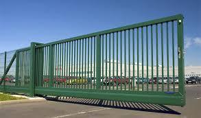 foto portão industrial