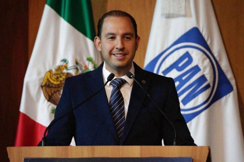 Enfrentan denuncia Marko Cortés y Santiago Creel por desvío de recursos
