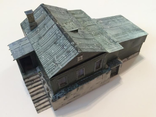 Free Scale Paper House Papermau: Chalet Chernarus Paper Model In 1/72