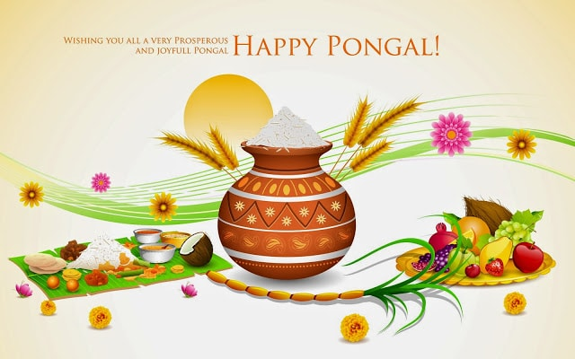 Happy Pongal wishes images and wallpapers 2017