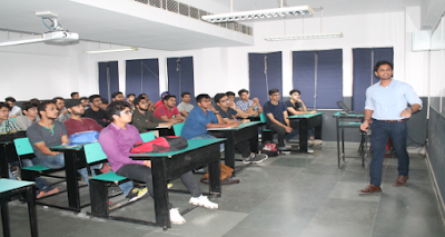 Interactive session by Alumnus Mr Mehul Jain, Dept of ME