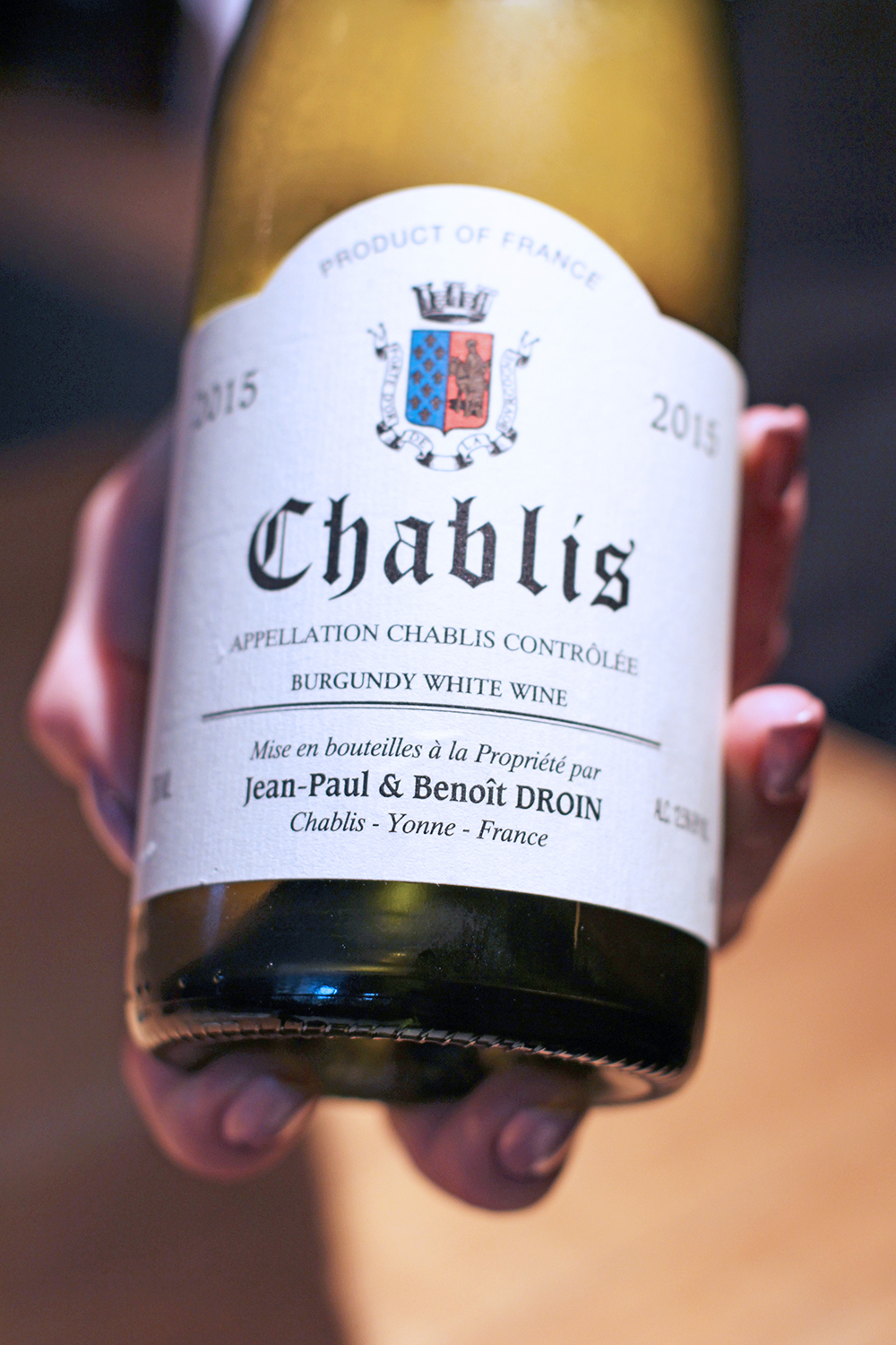 Chablis at Rozbrat 20 Restaurant, Warsaw - travel & lifestyle blog