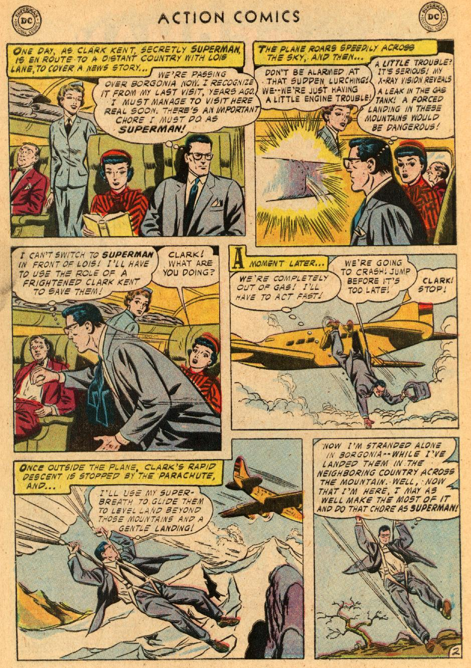 Read online Action Comics (1938) comic -  Issue #233 - 4