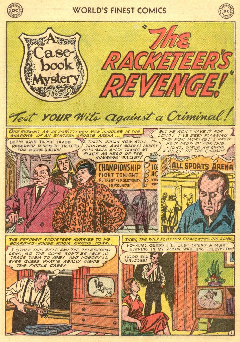 Read online World's Finest Comics comic -  Issue #70 - 17