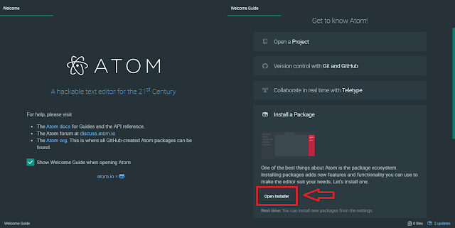 atom welcome guide image