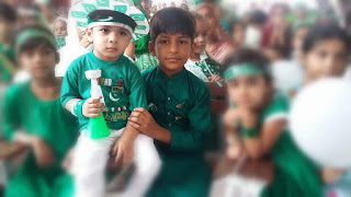 Celebrating Pakistan Independence Day
