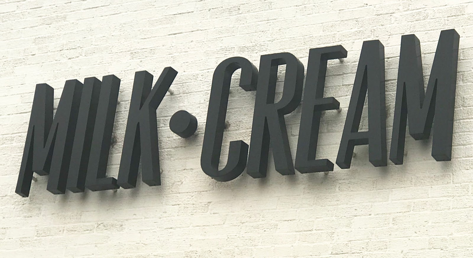 Image: Mild and Cream Sign