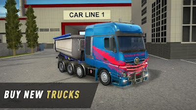 Truck World: Euro and American Tour (MOD, Unlimited Money) APK For Android