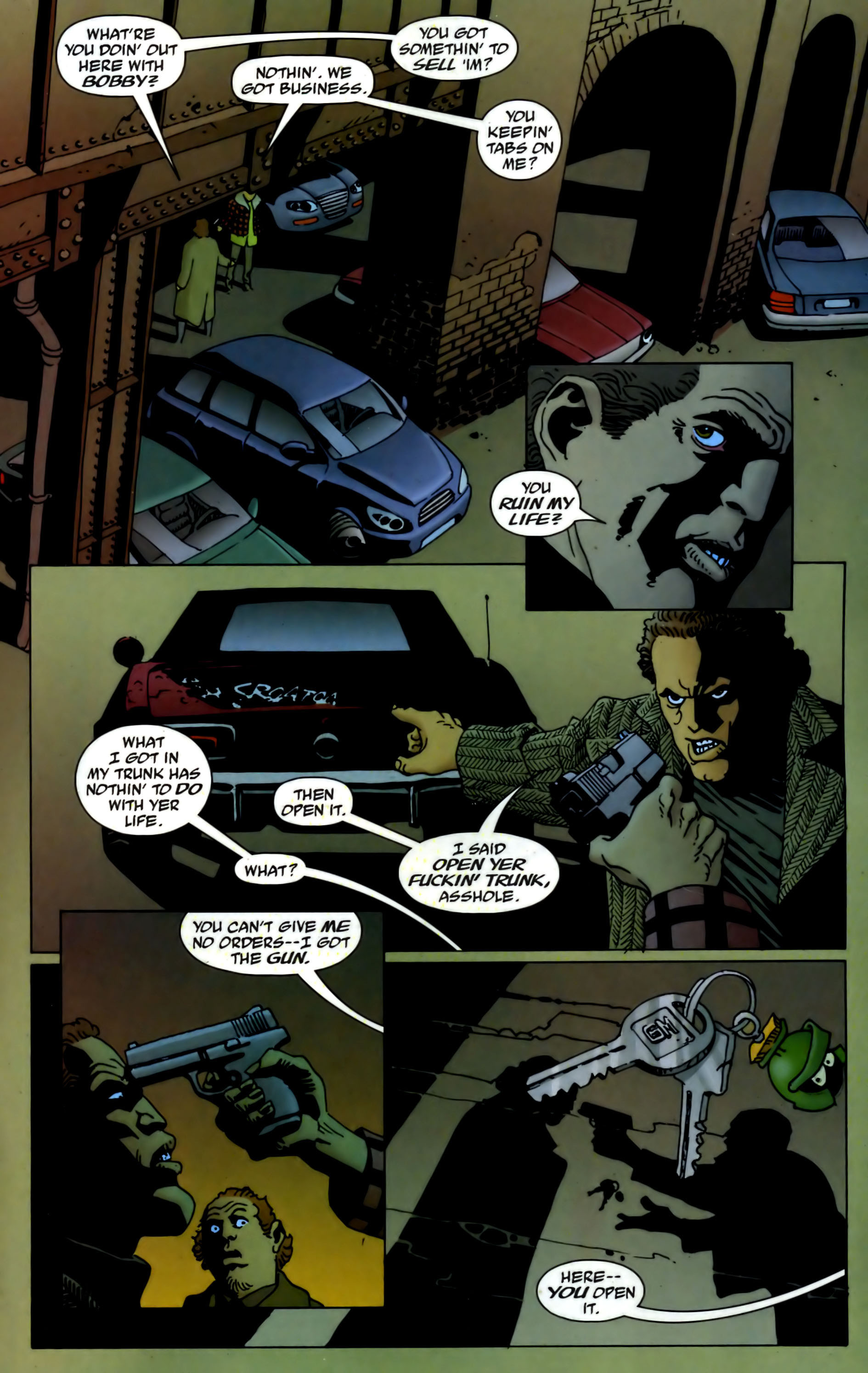 Read online 100 Bullets comic -  Issue #73 - 6