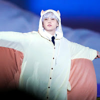 Cute Suga in Flying Squirrel Onesie [BTS 4th Muster Preview]