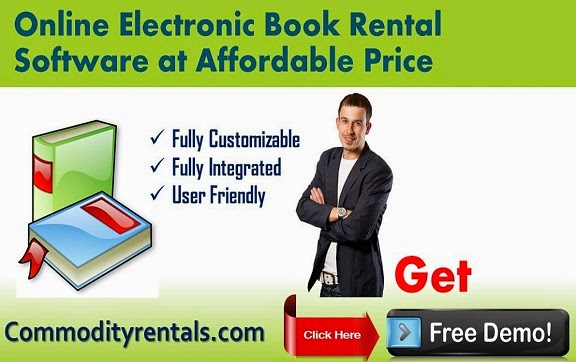 Electronic Book Rental Software