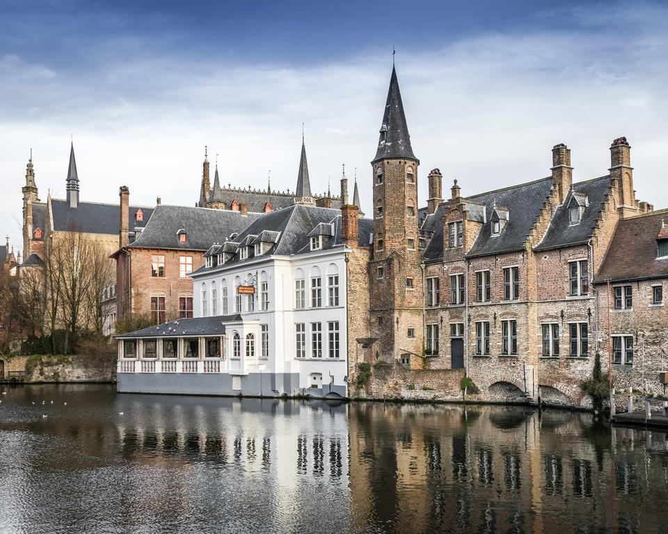 Charming image of Medieval Bruges, Belgium - found on Hello Lovely Studio