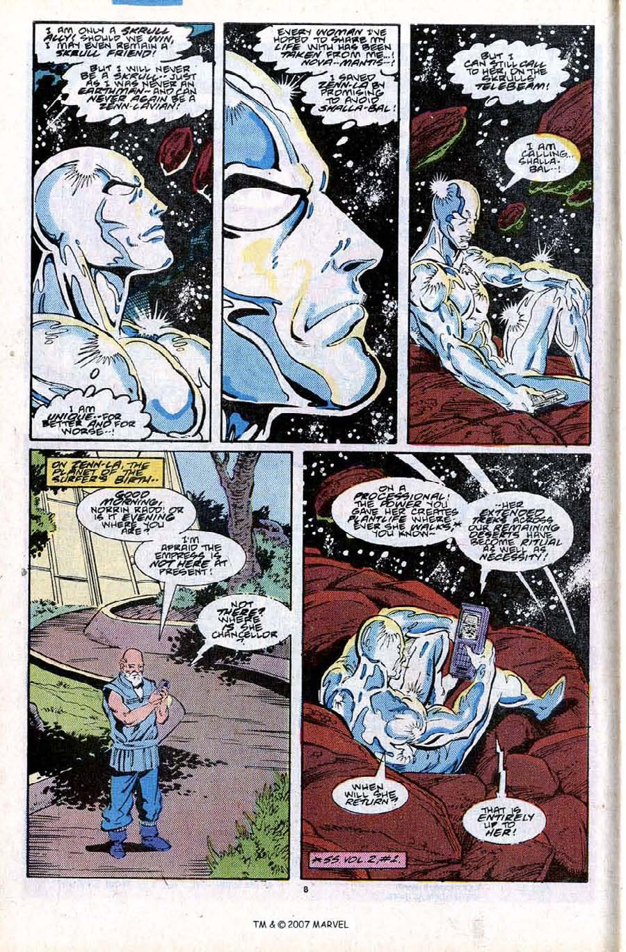 Read online Silver Surfer (1987) comic -  Issue #28 - 10