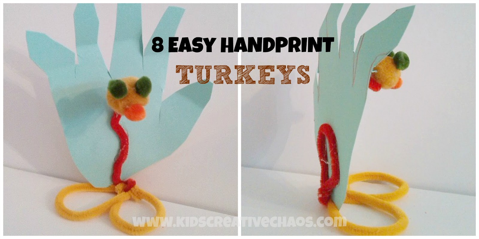 Handprint Turkey Craft Thanksgiving