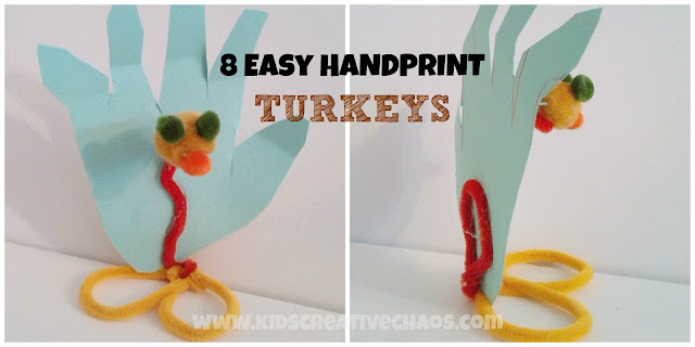 Handprint Turkey Craft Thanksgiving