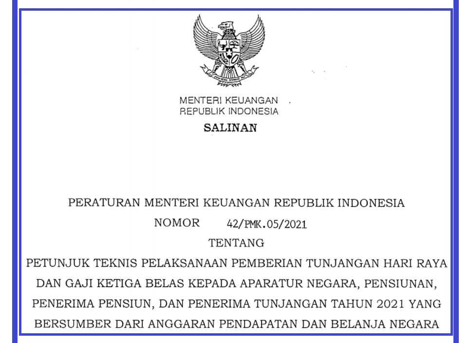 gambar pmk no 42 tahun 2021