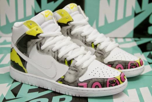 finest selection 07bb3 fa306 2015 Nike SB Dunk High De La Soul White Firefly Sneaker Available Now  (Detailed Images)
