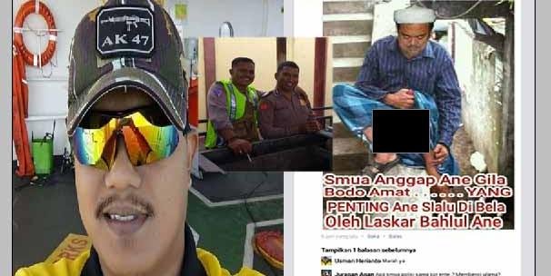 Parah, Pelaku Pengeditan Foto Penghinaan Habib Rizieq, Usman Heriyanto Ternyata Polisi Polda Kaltim