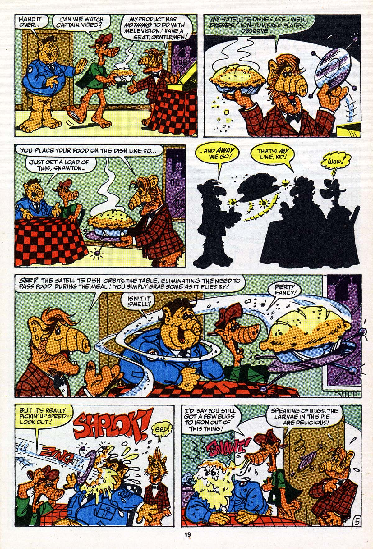 Read online ALF comic -  Issue #27 - 16