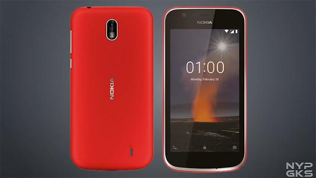 مواصفات هاتف 2018 Nokia 1 بالصور والفيديو