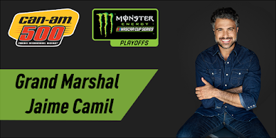 Actor Jaime Camil Named Grand Marshal For Can-Am 500