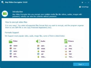 Any Video Encryptor 2.0.0 Full Version